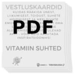 Vestluskaardid Suhted mustvalge PDF